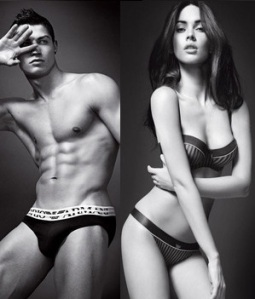 Christiano Ronaldo & Megan Fox
